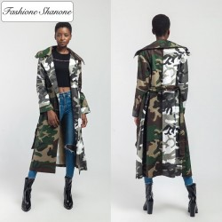 Fashione Shanone - Long military coat