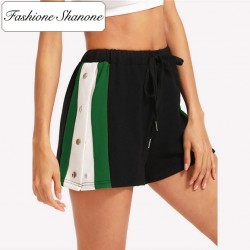 Fashione Shanone - Sportswear shorts with buttons