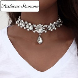 Fashione Shanone - Ras du cou en diamants