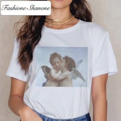 Fashione Shanone - Limited stock - Angel kiss Michelangelo T-shirt