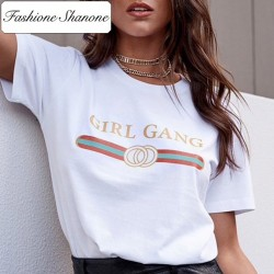 Fashione Shanone - Limited stock - Girl Gang T-shirt