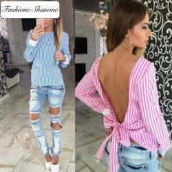 Fashione Shanone - Limited stock - Backless blouse