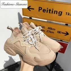 Fashione Shanone - Limited stock - Sneakers with thick soles