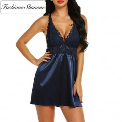 Fashione Shanone - Limited stock - Lace and satin nightie