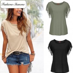 Fashione Shanone - Limited stock - Tassel T-shirt