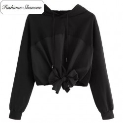 Fashione Shanone - Limited stock - Bow knot hoodie