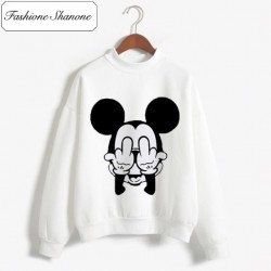 Fashione Shanone - Stock limité - Sweat Mickey doigt d'honneur