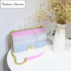 Fashione Shanone - Limited stock - Rainbow quilted bag