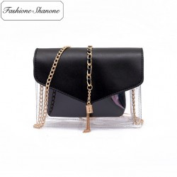 Fashione Shanone - Limited stock - Small transparent bag with chain