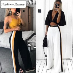 Fashione Shanone - Limited stock - Wide striped trousers