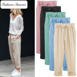 Fashione Shanone - Limited stock - Linen casual pants