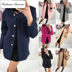 Fashione Shanone - Limited stock - Breasted waisted coat