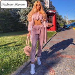 Fashione Shanone - Limited stock - Sequined tracksuit set