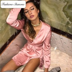 Fashione Shanone - Limited stock - Satin dress