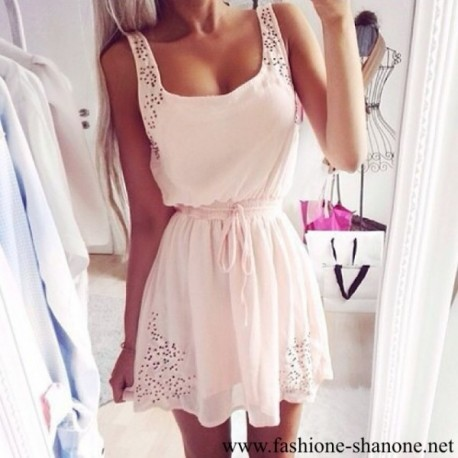 305 - Casual white dress