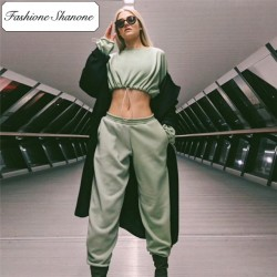 Fashione Shanone - Limited stock - Tracksuit with crop sweatshirt