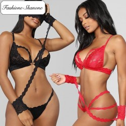 Fashione Shanone - Limited stock - Erotic lace lingerie set