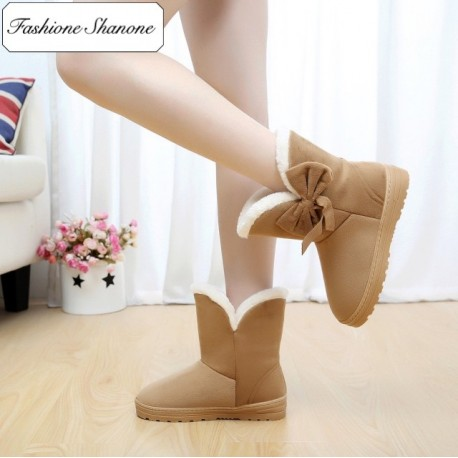 Fashione Shanone - Stock limité - Boots avec noeud