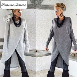 Fashione Shanone - Limited stock - Long asymmetric sweater