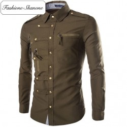 Fashione Shanone - Limited stock - Shirt with rivet