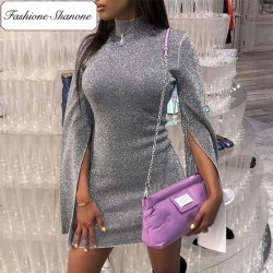 Fashione Shanone - Limited stock - Silver sequined dress