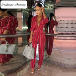 Fashione Shanone - Limited stock - Stripped jumpsuit
