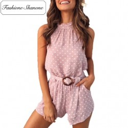 Limited stock - Polka dot playsuit