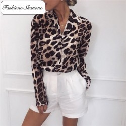 Fashione Shanone - Limited stock - Leopard shirt