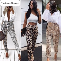 Fashione Shanone - Animal printed pants