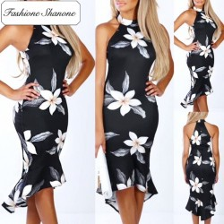 Fashione Shanone - Floral mid-length dress