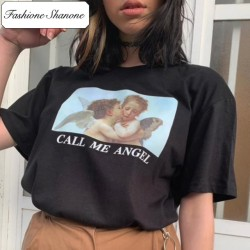 Fashione Shanone - CALL ME ANGEL T-shirt
