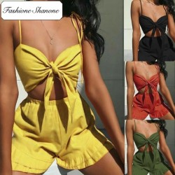 Fashione Shanone - Ensemble crop top et short