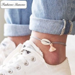Less than 10 euros - Shell anklet