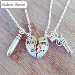 Less than 10 euros - Partner in crime necklaces