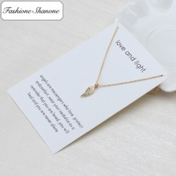 Less than 10 euros - Angel wing necklace