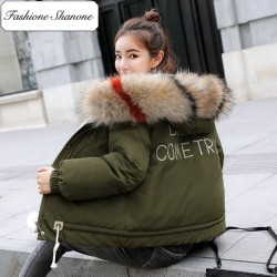 Fashione Shanone - DREAM COME TRUE down coat with fur hood