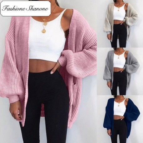 Fashione Shanone - Loose knit cardigan