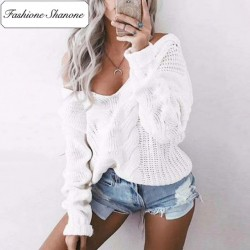 Fashione Shanone - Twisted sweater