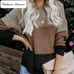 Fashione Shanone - Tricolor sweater