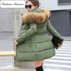 Fashione Shanone - Parka with fur hooded