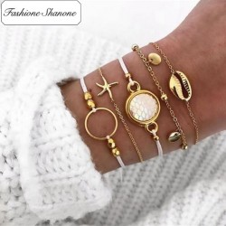 Fashione Shanone - 5 beach bracelets set