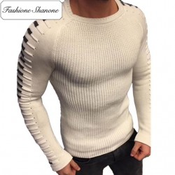 Fashione Shanone - Round neck tight sweater
