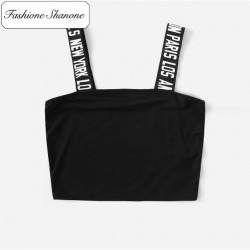 Fashione Shanone - Crop top with straps