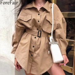 Fashione Shanone - Cargo shirt dress
