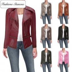 Fashione Shanone - Several colors leather perfecto jacket