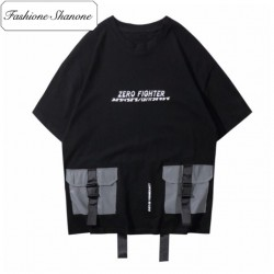Reflective pockets T-shirt