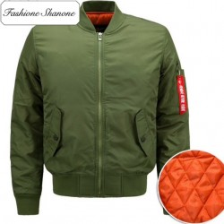 Fashione Shanone - Orange inside bomber