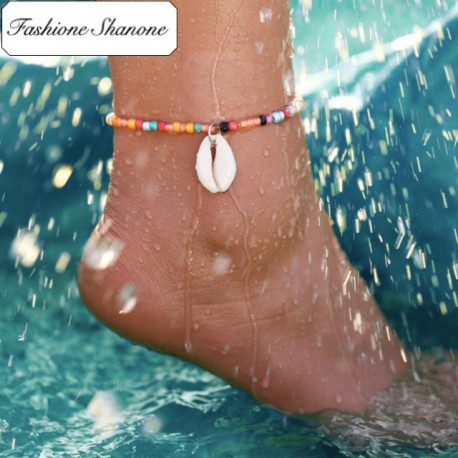 Fashione Shanone - Shell and pearls anklet