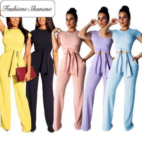 Fashione Shanone - Wide pants and top set