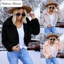 Fashione Shanone - Manteau court en fourrure